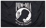 POW-MIA FLAG -All Sizes/ Screen Printed